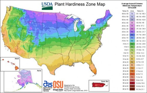 The New USDA Plant Hardiness Zone Map And What It Tells Us About - Us postal zone map